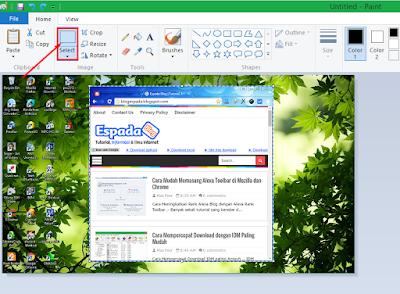 Cara Simple Mengambil Screenshot Gambar di Laptop 16