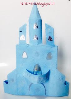 castello di ghiaccio di elsa diy