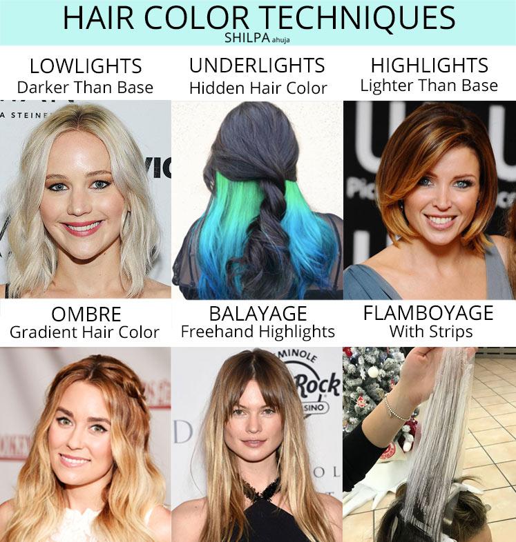hair color technique