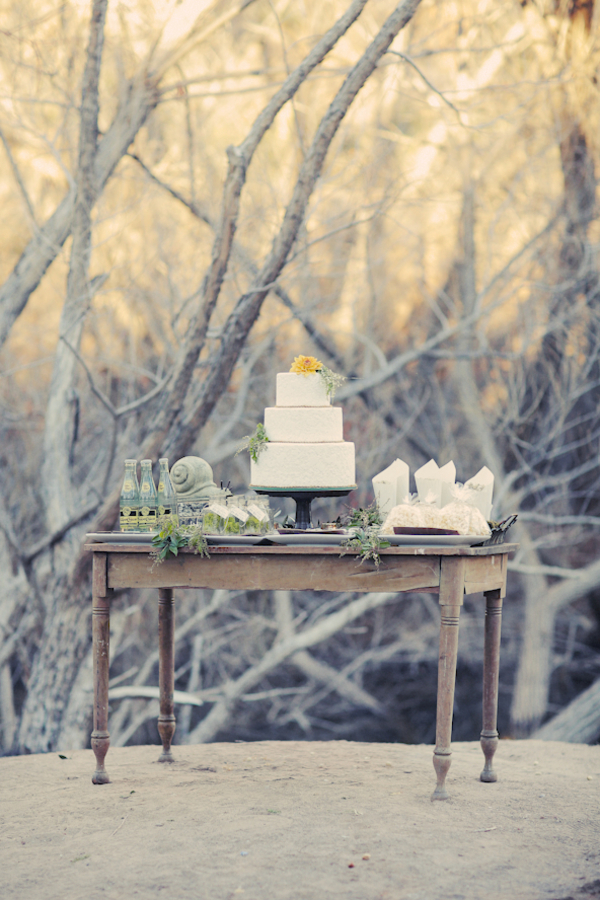 bride+groom+bridal+dress+gown+floral+hair+wreath+rustic+woodland+ecofriendly+eco+friendly+green+emerald+color+of+the+year+pantone+cake+dessert+table+reception+centerpiece+blue+hipster+fall+autumn+gideon+photography+11 - Woodland Fairytale