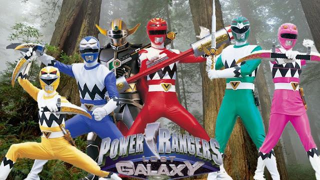 Dairanger e Ninja Sentai Kakuranger.  POWER RANGERS LOST GALAXY  Power Ranger Lost Galaxy è la settima stagione dei Power Rangers. È basata sulla serie giapponese Super Sentai Seijuu Gingaman. La gigantesca astronave-città Terra Venture, creata con lo scopo di cercare nuovi pianeti da colonizzare, parte alla ricerca di un nuovo mondo. Sulla Luna si apre un varco da cui appare Maya, un'umana in cerca d'aiuto perché il suo pianeta è stato attaccato da Scorpius, un mostro alieno che sta cercando le mitiche Spade Quasar. Cinque ragazzi, Leo, Damon, Kai, Kendrix e la stessa Maya si impossessano delle spade e si trasformano nei Rangers Galaxy.  POWER RANGERS NINJA STORM  Power Rangers Ninja Storm è l'undicesima serie dei Power Rangers, basata sull'originale giapponese Super Sentai Ninpuu Sentai Hurricaneger. Tre giovani guerrieri ninja, Shane, Tori e Dustin, dopo aver assistito alla distruzione dell'accademia ninja del vento da parte del malvagio Lothor, sono costretti a combattere le forze del male come i Power Rangers Ninja Storm, sotto la guida del loro sensei trasformato in un porcellino d'india.