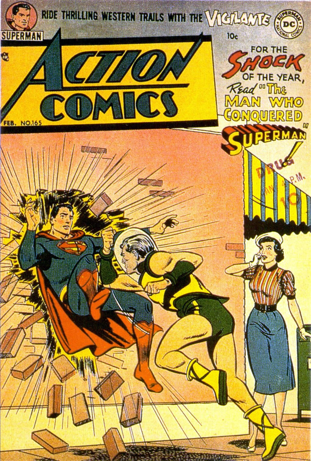 Read online Action Comics (1938) comic -  Issue #165 - 1