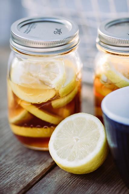 Erkältung, Ingwer-Zitronen- Honig, Pomponetti
