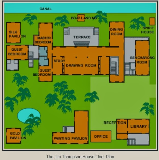 Home Design Thailand: Thai Style House Floor Plans