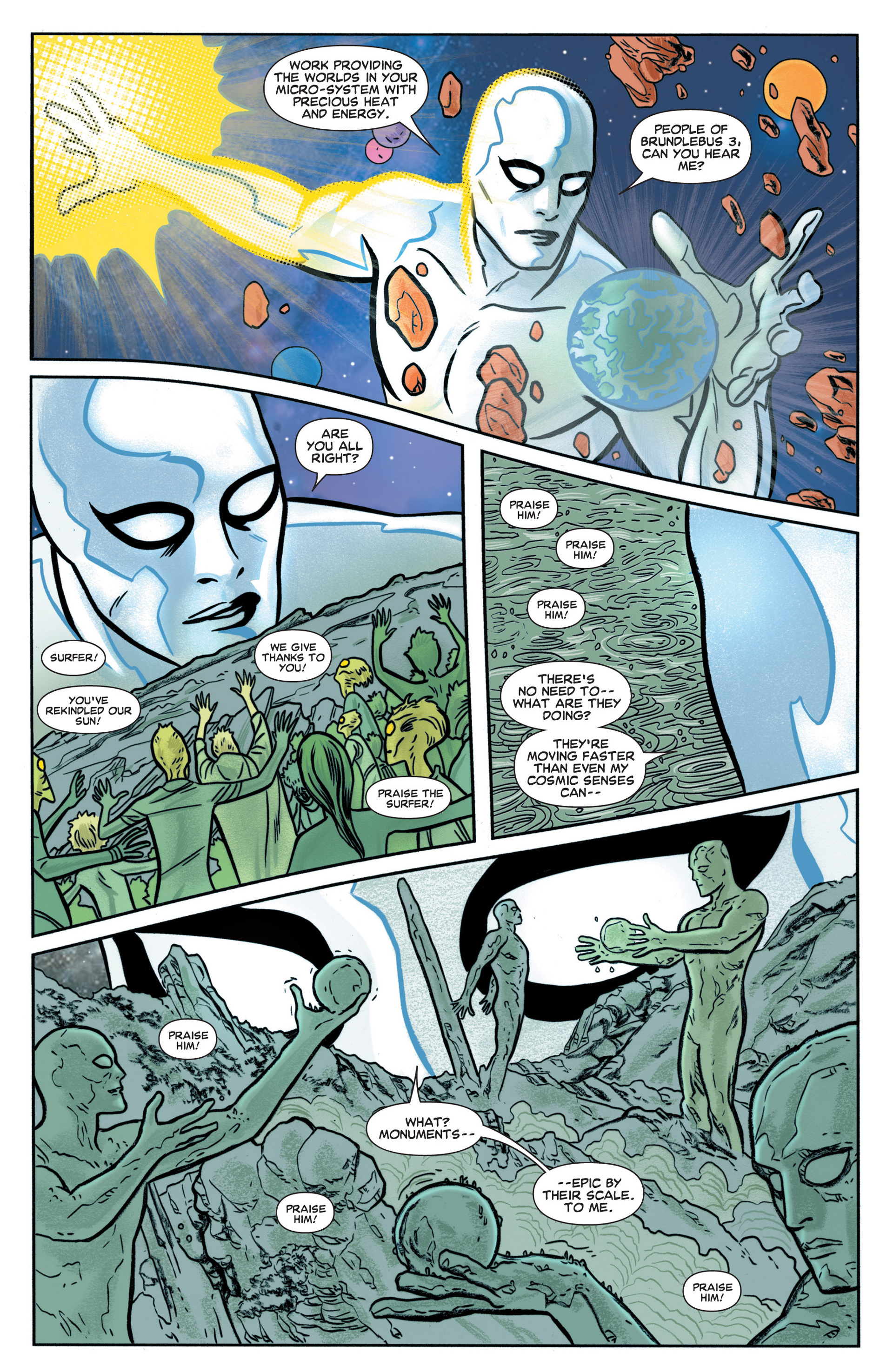 Read online Silver Surfer (2014) comic -  Issue #1 - 5