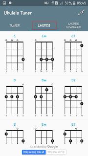 belajar chord ukulele dasar