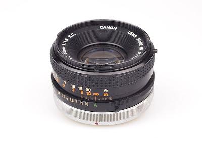 Canon FD 50 f1.8 SC