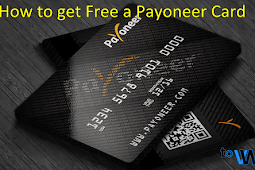 How to get a Payoneer Card