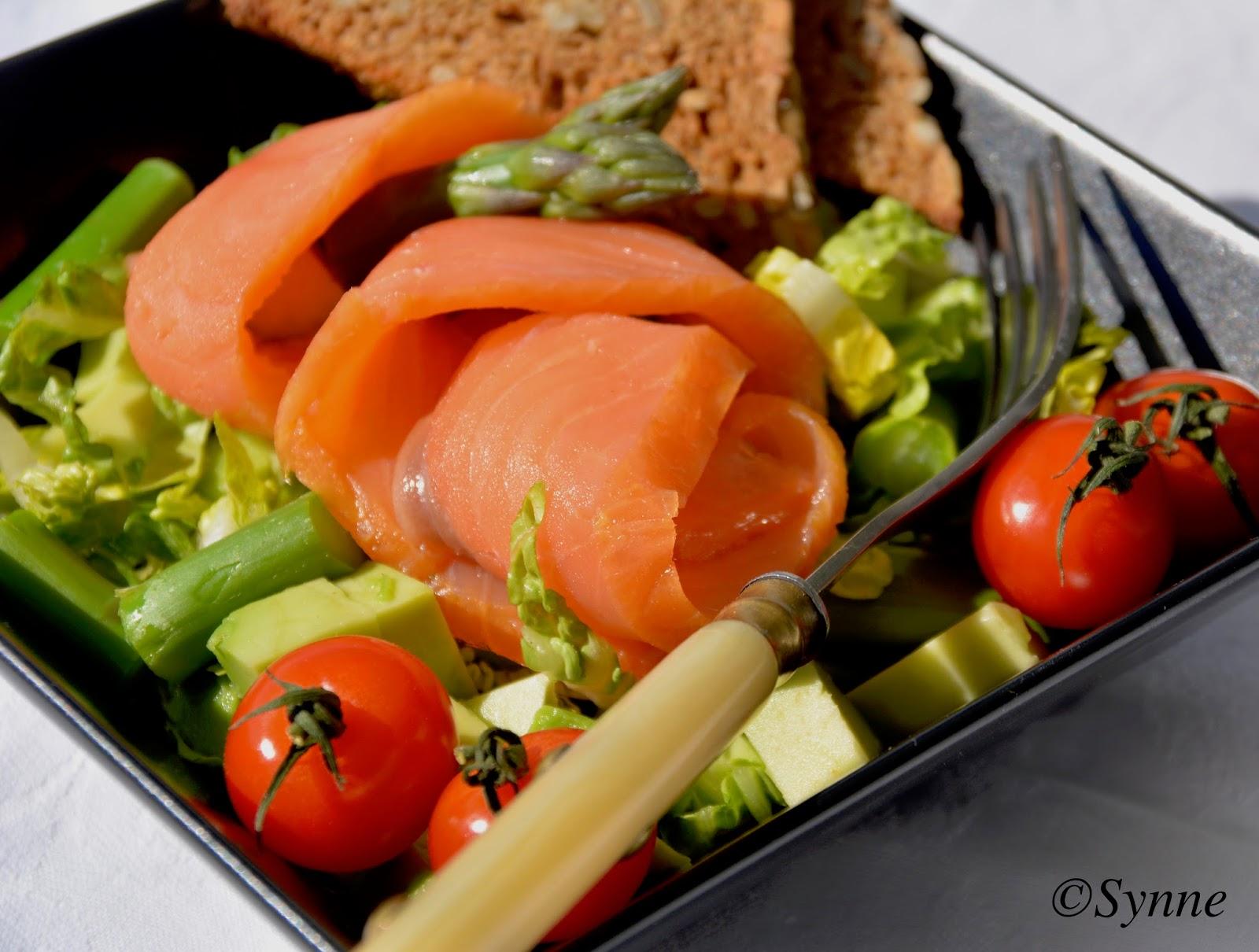 hvilken salat passer til laks