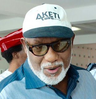ONDO Guber: Akeredolu Gets Reprieve As APC NWC REJECTS Panel's Report