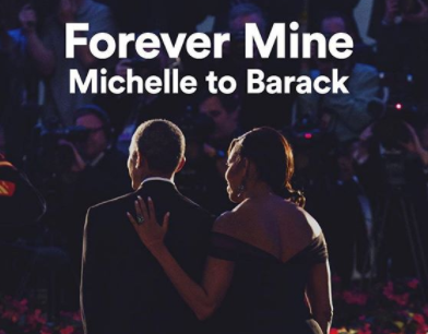 'Forever mine' - Michelle Obama celebrates her husband, Barack, for Valentine's Day