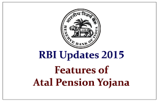 Features of Atal Pension Yojana