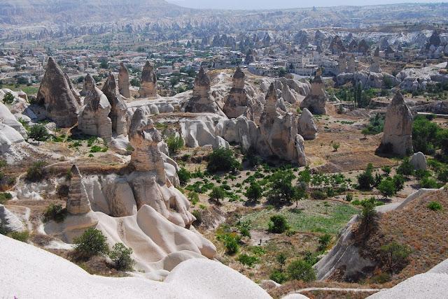 la Cappadoce et ses milliers de soldats !