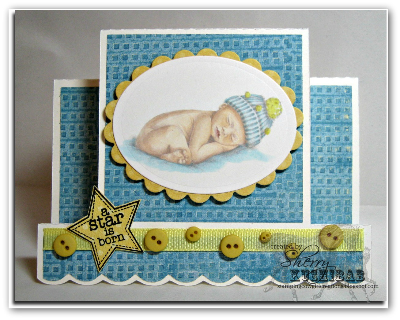 Stamping Cowgirl Creations Hush Little Baby Don T You Cry