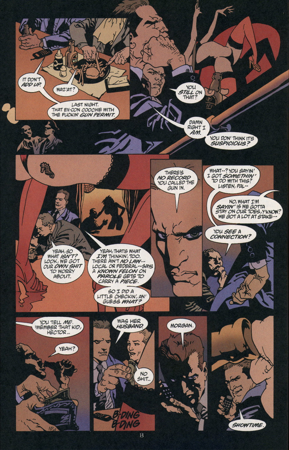 Read online 100 Bullets comic -  Issue #2 - 9