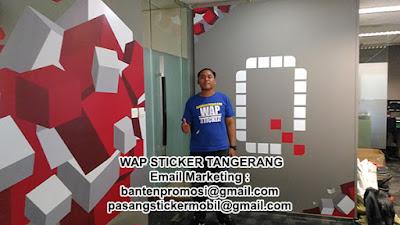 Pasang Wall Sticker Dinding Kantor Jakarta