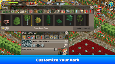 roller coaster tycoon android mod apk