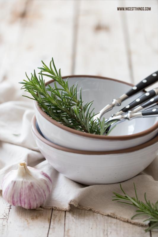 Knoblauch und Rosmarin Food Styling Photography