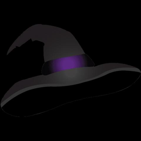 sombrero bruja png para rediseños