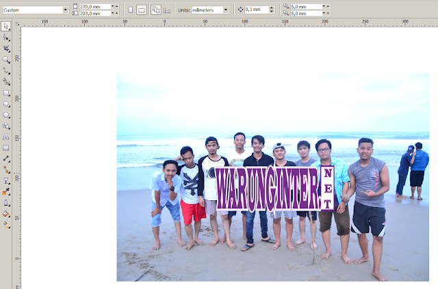 Membuat watermark di Photoshop
