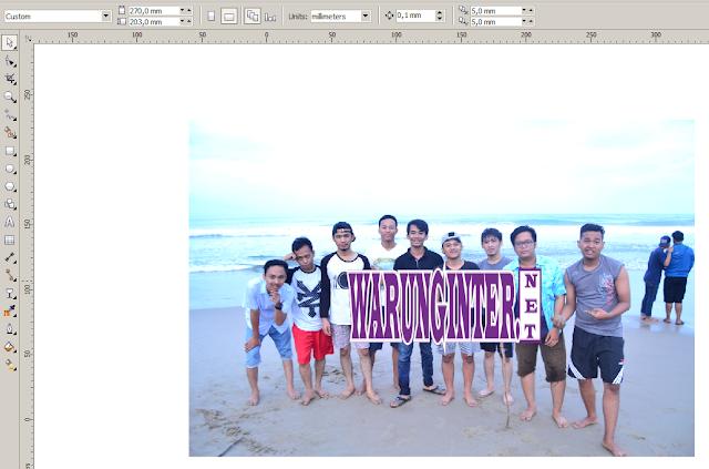 Membuat watermark di Photoshop