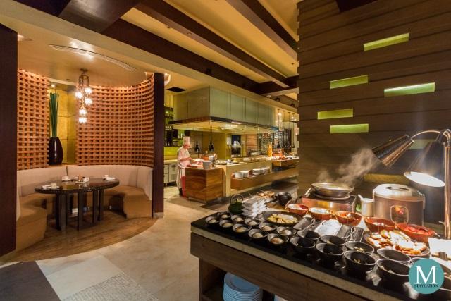Japanese Breakfast Buffet at New World Makati Hotel