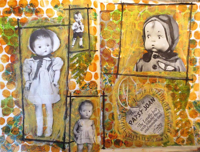 Using Gesso To Paint Dolls