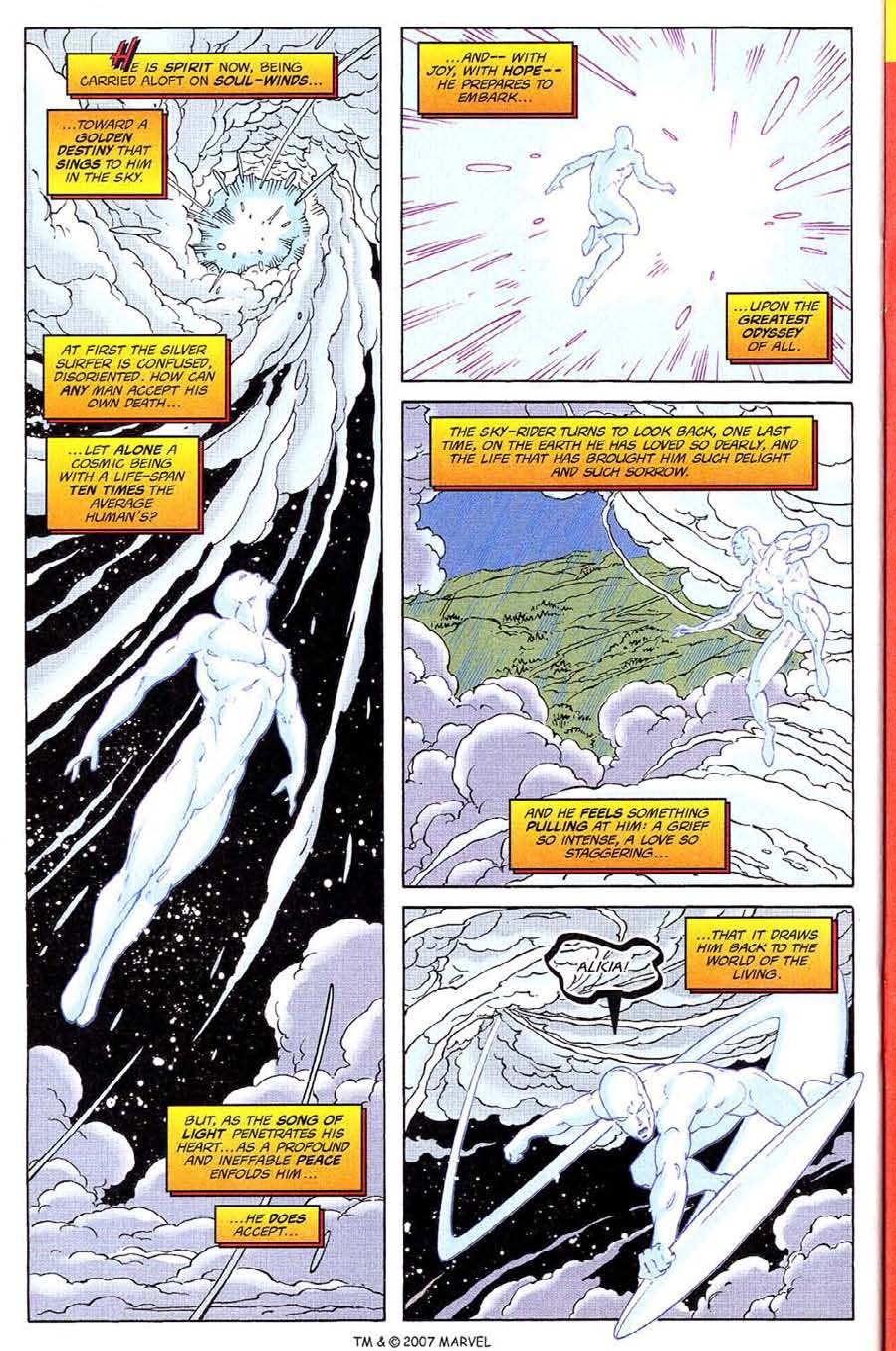 Read online Silver Surfer (1987) comic -  Issue #135 - 32