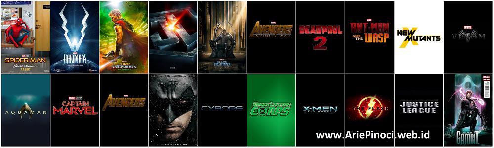 Film Superhero Coming Soon