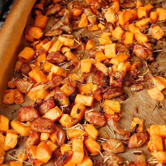 Breakfast Sweet Potato Hash