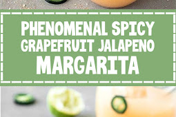 Phenomenal Spicy Grapefruit Jalapeno Margarita
