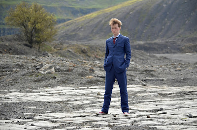 10th Doctor blue suit - rewoven fabric and Magnoli Clothiers tailoring
