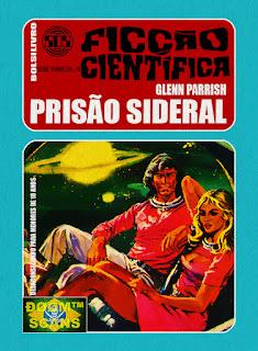 bolsilivro sos ficção científica cedibra série vermelha glenn parrish prisão sideral