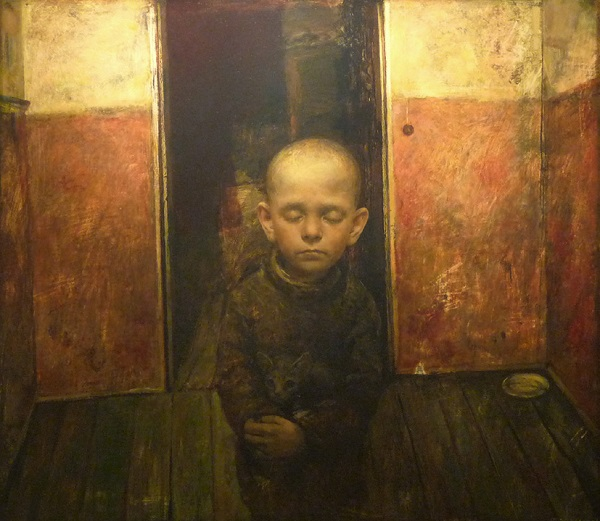"Arte contemporáneo, pinturas, ""The Best Friend"" by Igor Melnikov, 2009."