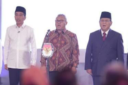 Survey Terbaru Indometrik Ini Menangkan Prabowo, Jokowi Kalah 7% Suara