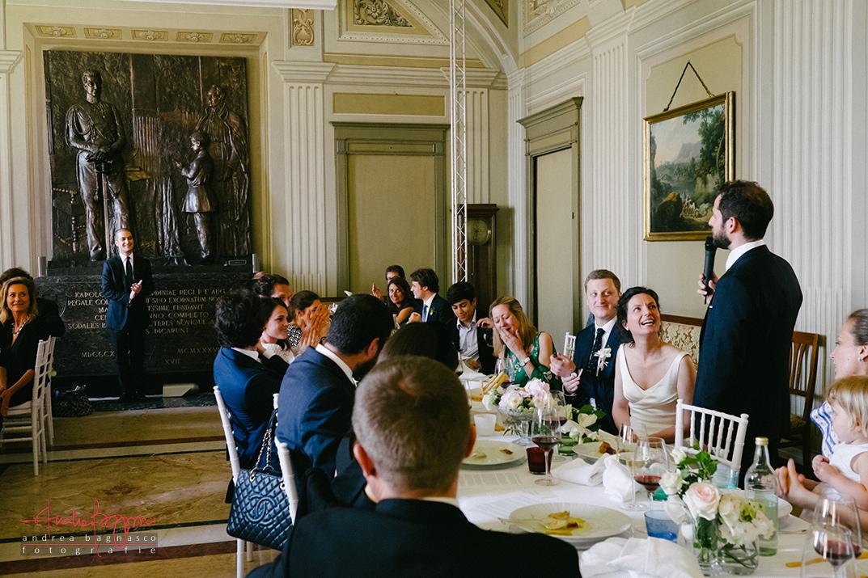 groom speech Italy wedding