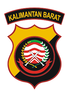 Polda Kalimantan Barat Logo Vector download free