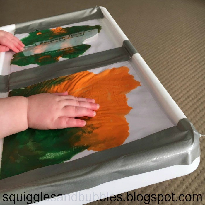 http://squigglesandbubbles.blogspot.com.au/2017/04/no-mess-baby-painting-painting-with.html