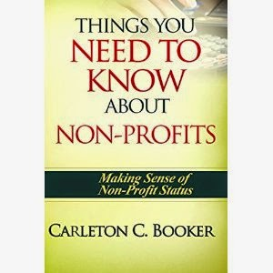 things you need to know about non-profits, carleton c. booker, how to start a non-profit