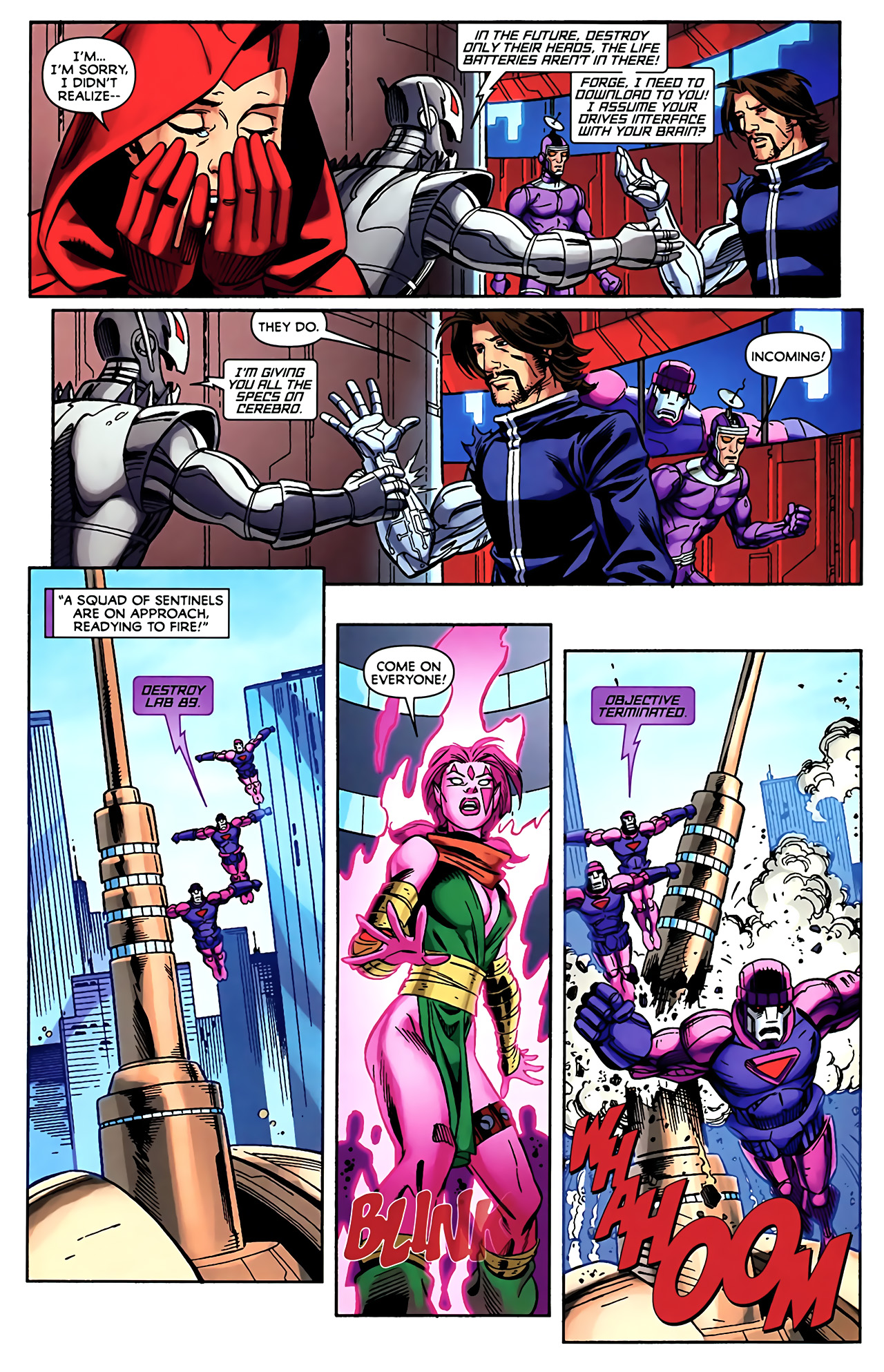 Read online Exiles (2009) comic -  Issue #5 - 12