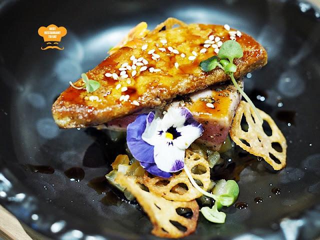 KOUZU Bangsar Bar Restaurant Blue Fin Tuna & Foie Gras