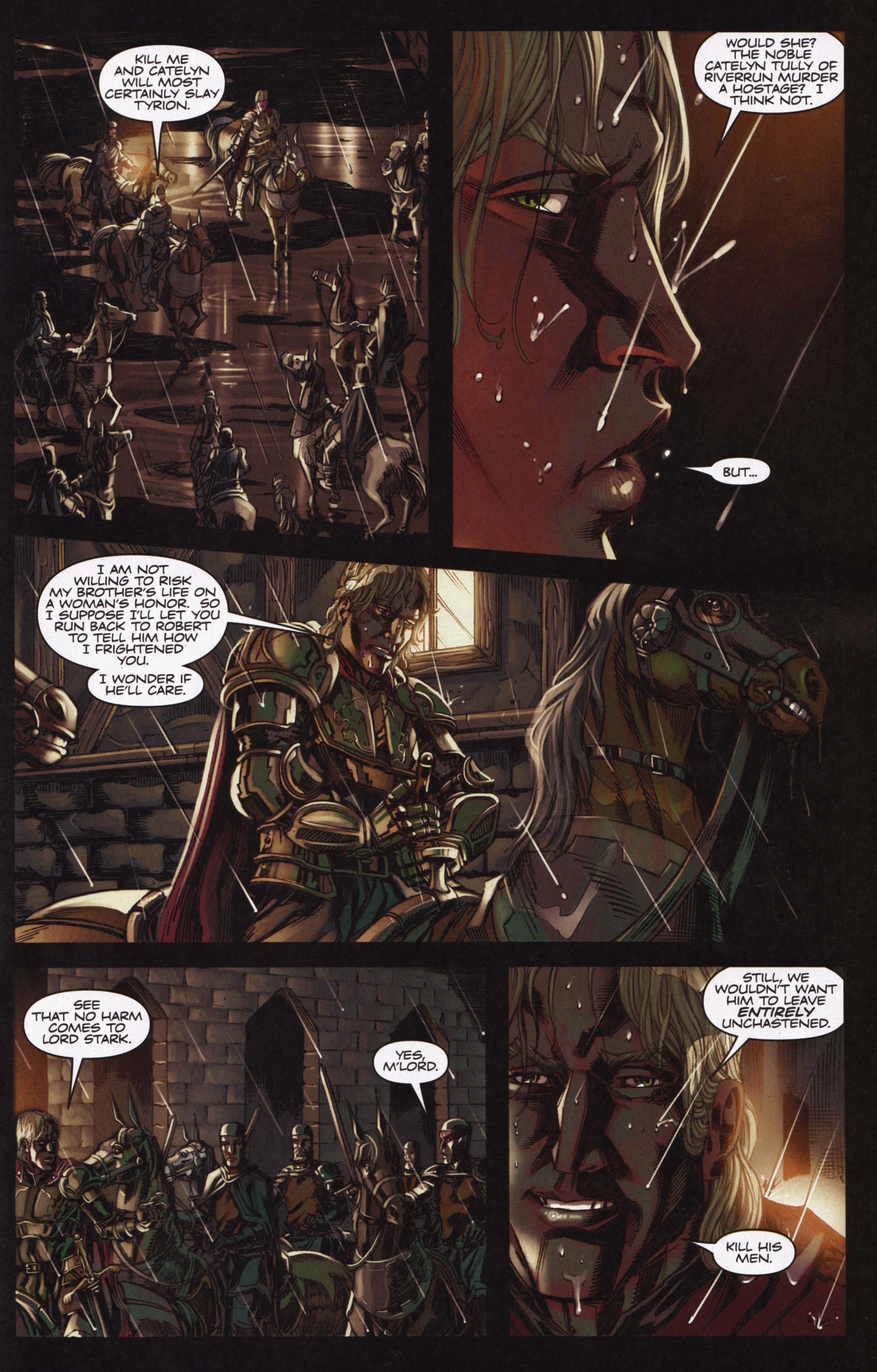 Read online A Game Of Thrones comic -  Issue #12 - 29
