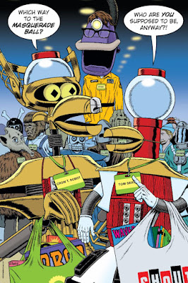 SDCC 2018 Shout Factory Exclusive Mystery Science Theater The Bots Go To The Con Lithograph by Steve Vance