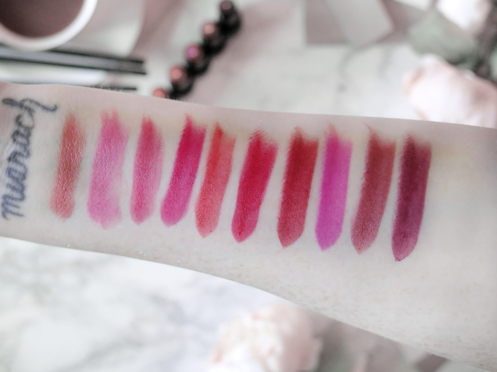 Dare To Be Bold | NEW BareMinerals Statement Lip Collection | Review & Swatches | labellesirene.ca