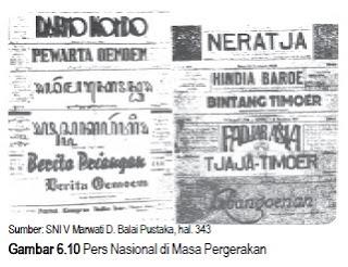 Peranan Pers dalam Perkembangan Kesadaran Nasional
