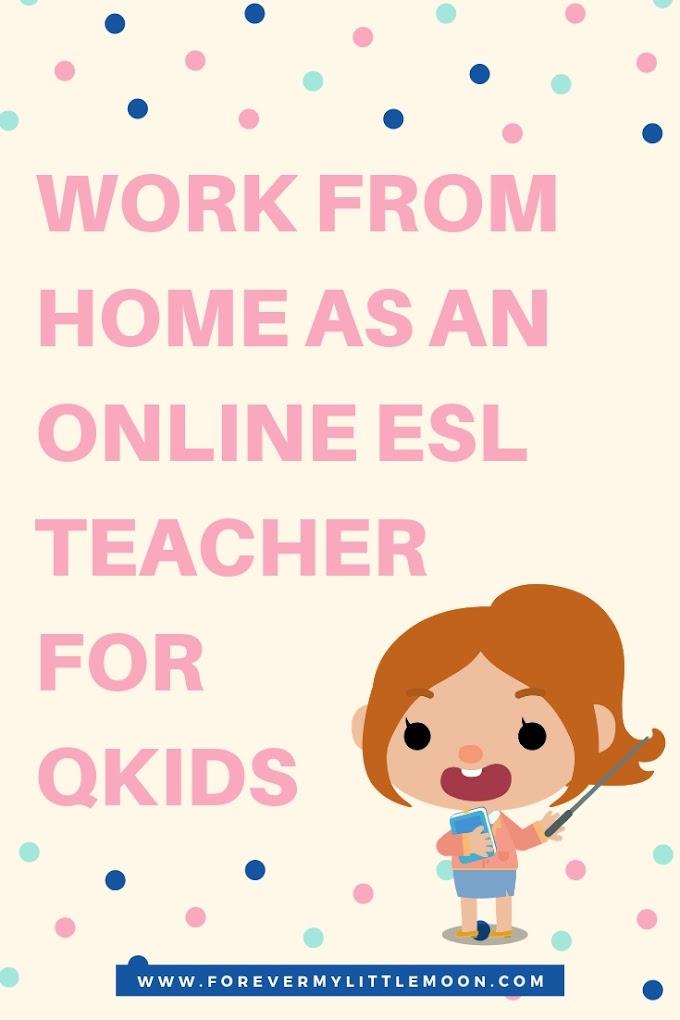 Work From Home as an Online ESL Teacher for Qkids