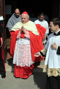 The Traditional Penitential and Mourning Dress of Cardinals of the Roman Church