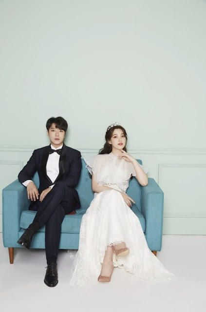 Choi Min Hwan FTISLAND dan Yulhee Berbagi Foto Pernikahan Mereka