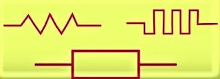 lambang hambatan listrik