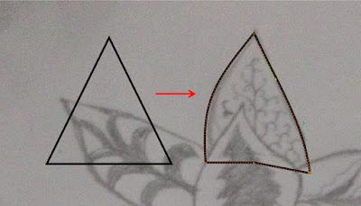 ilustrasi menggambar batik di coreldraw